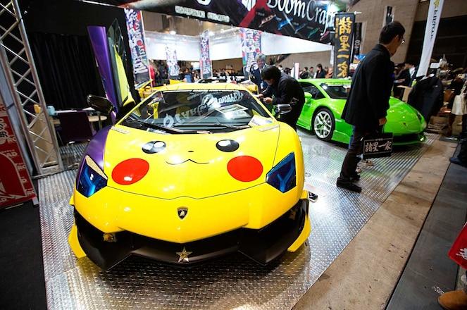 Oddballs Of Tokyo Auto Salon 2017 Pikachu Lamborghini