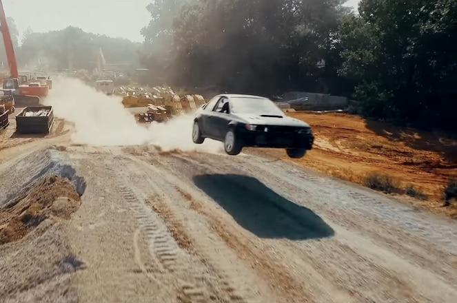 Subaru Legacy Tyler Witte drift video