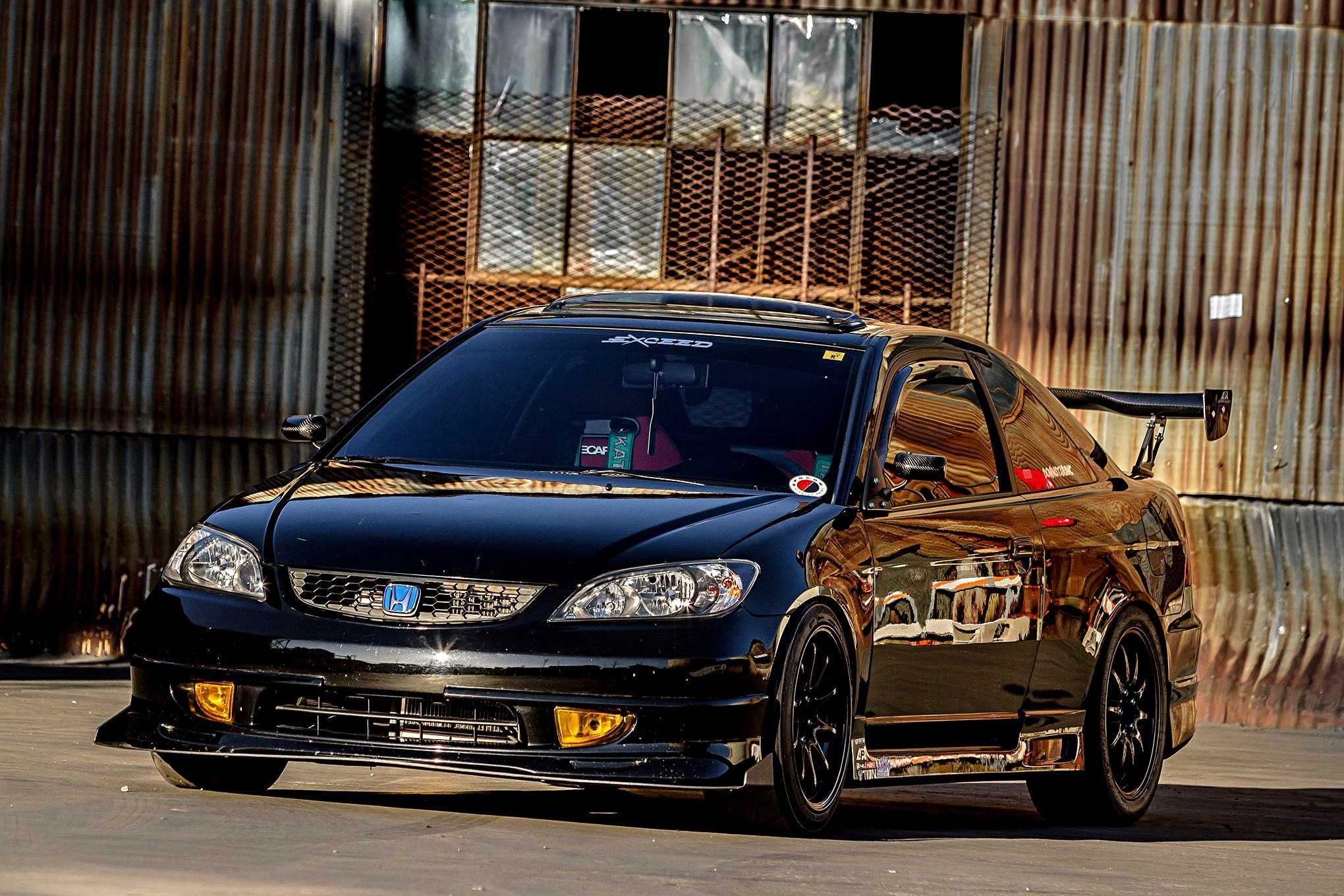 2004 Honda Civic Ex Seventh Heaven