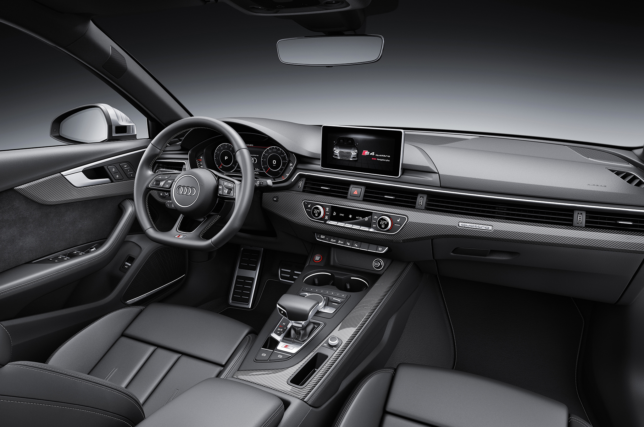 2017 Audi S4 Debuts With 354 Hp Drops Manual Option