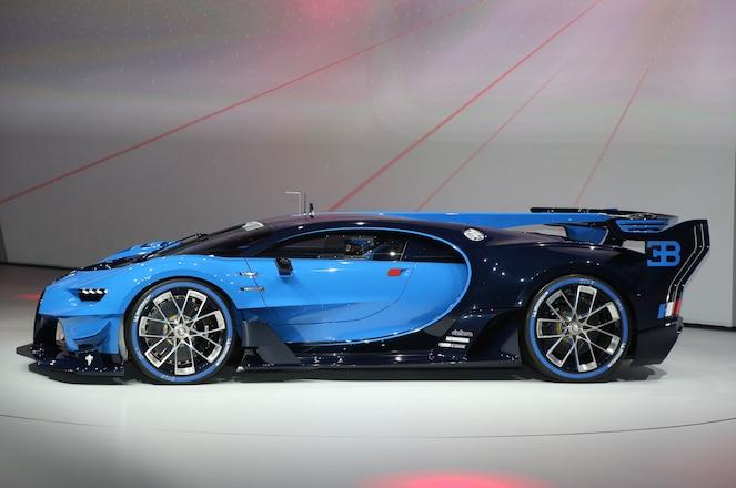 Bugatti Vision Gran Turismo Concept Side Profile