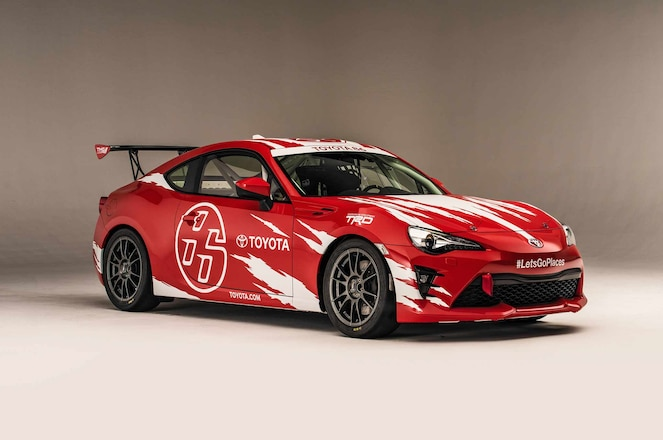 2018 Toyota 86 TMG Cup Car front three quarter