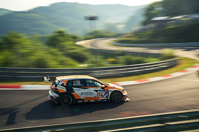 VW Takes On The 2017 24 Hours Of The Nuburgring Mathilda Racing GTI TCR