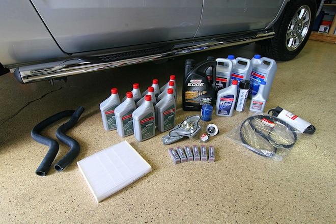 Basic Maintenance Parts