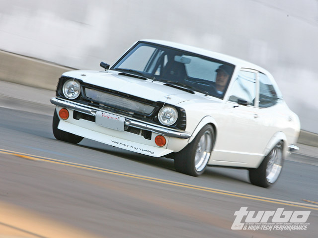 1982 Toyota Corolla - High Performance Parts - Turbo Magazine