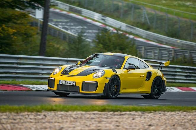 2018 Porsche 911 GT2 RS lap record 6