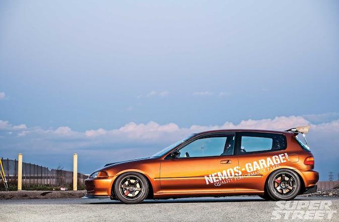 1993 Honda Civic Cx Volk Racing Te37sl