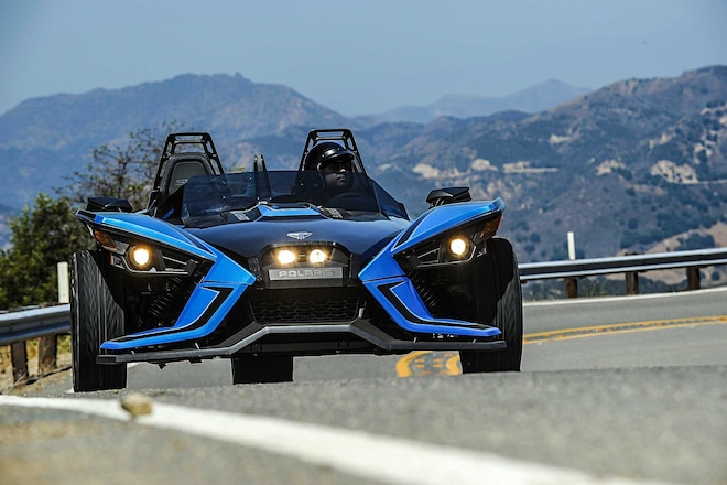 2018 Polaris Slingshot Front View