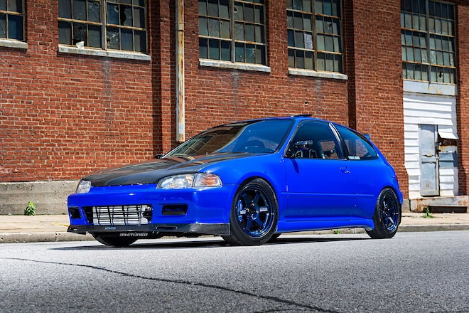 1993 Honda Civic Si Wing West Side Skirts