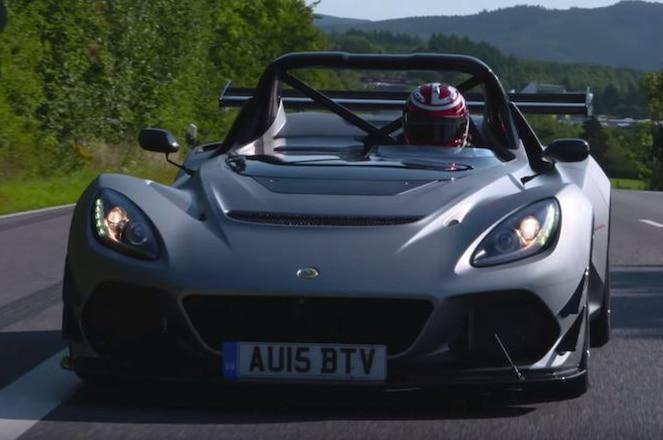Lotus 3-Eleven Screenshot around the Nurburgring