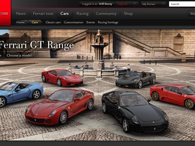 Ferrari Website Debuts On Sunday March 29th European Car Magazine