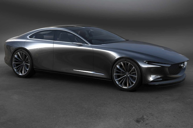 Mazda Vision Coupe front three quarter crop