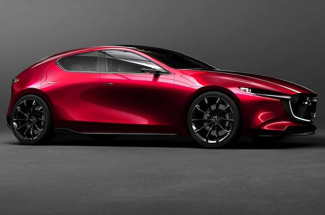 Mazda Kai concept front three quarter crop
