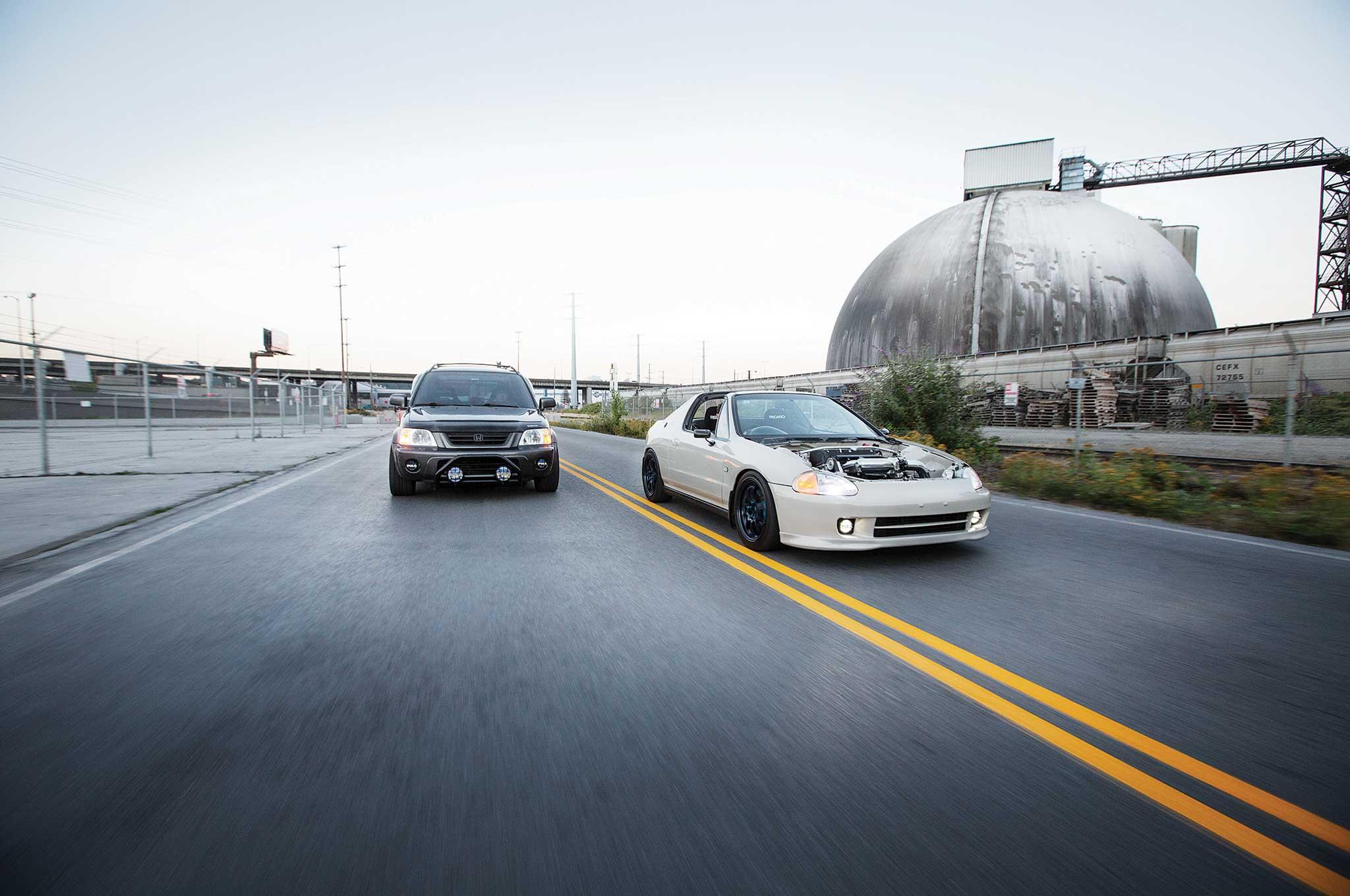1994 Honda del Sol Si & 1999 CR-V EX - The Nonconformist