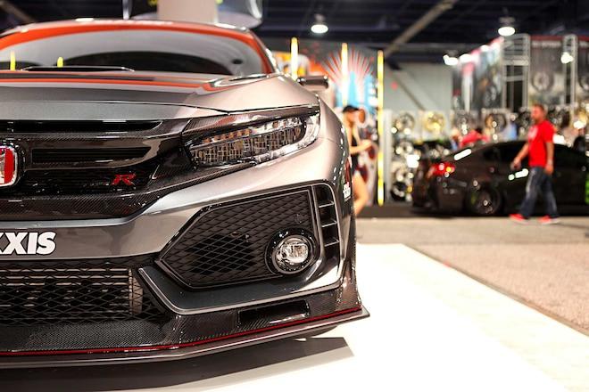 Evasive Motorsports Civic Type R EVS Tuning Front Spoiler