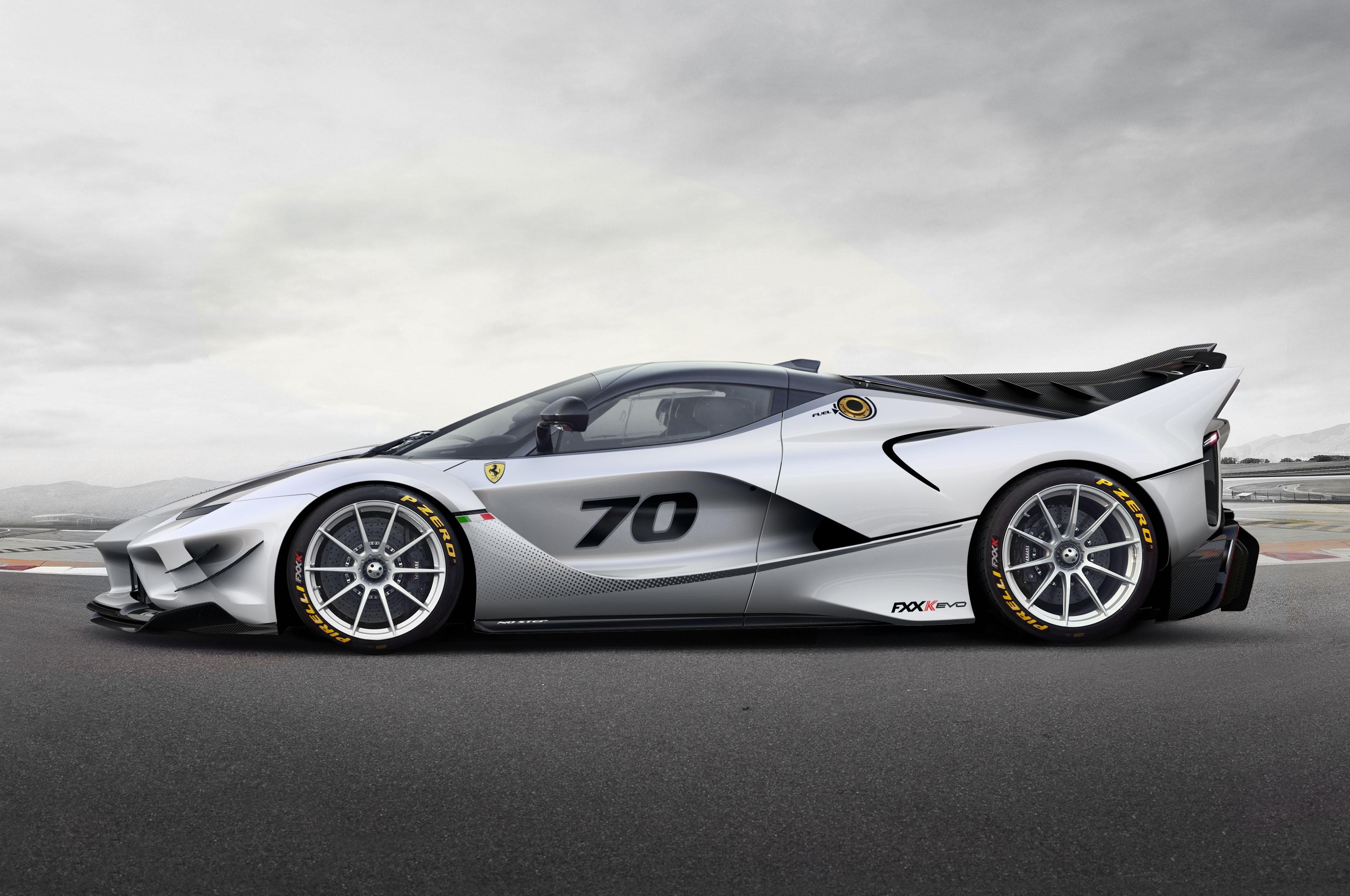 Ferrari Fxx K Evo Is Lighter More Aerodynamic Than Predecessor