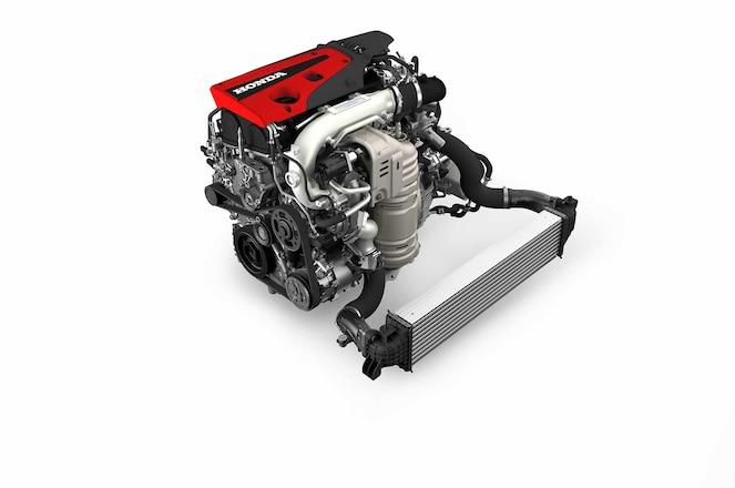 Honda Civic Type R crate engine crop