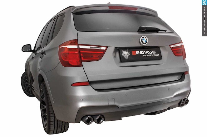 Gear Reumus Bmw X3 Sport Exhaust W Selectable Tailpipes