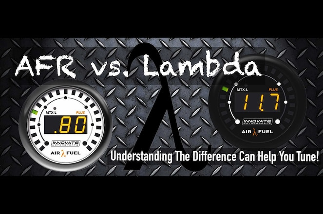 Lambda Vs AFR