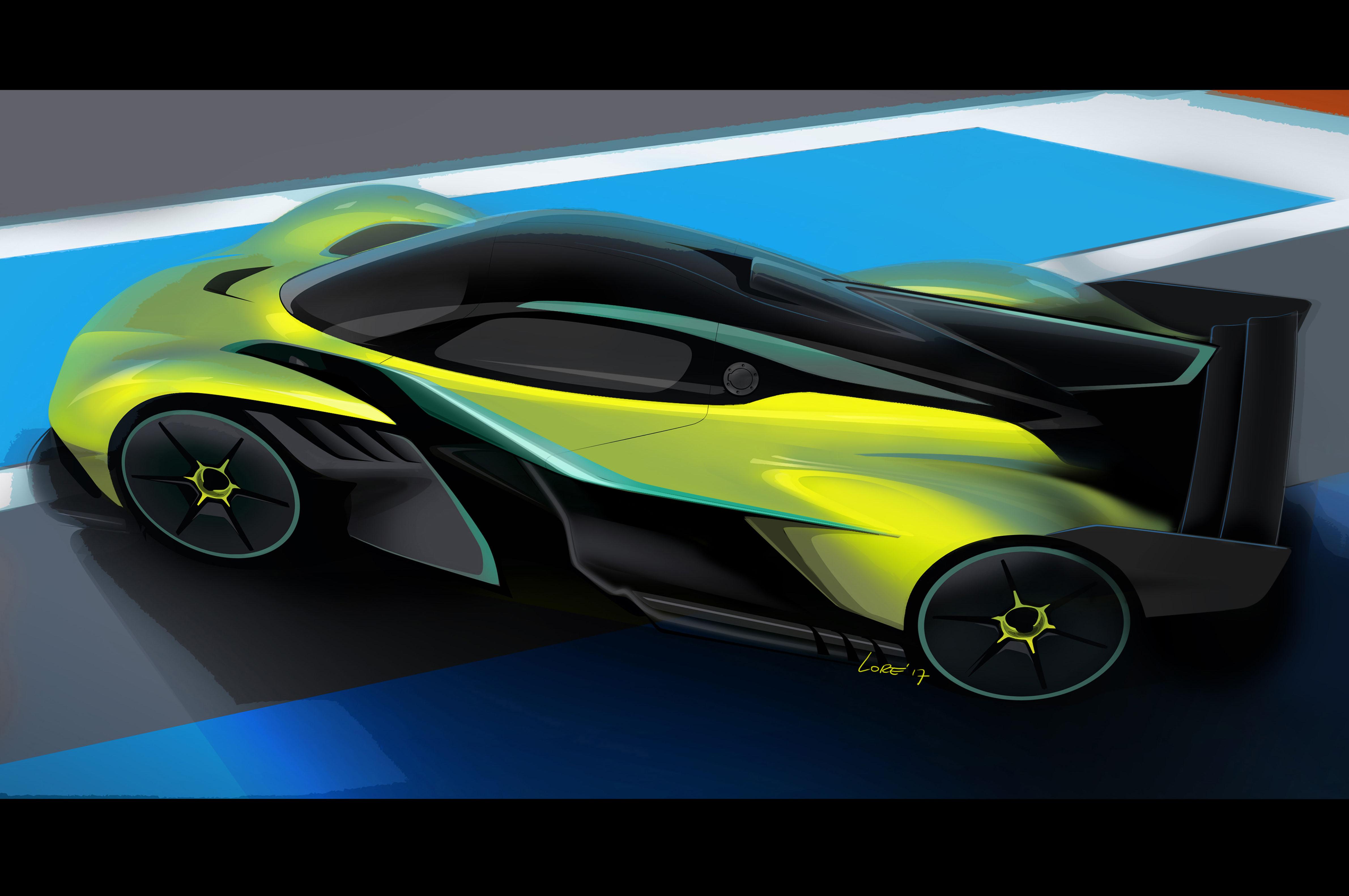 Aston Martin Valkyrie Amr Pro Achieves Top Speed Near 250 Mph