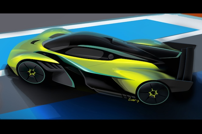 Aston Martin Valkyrie AMR Pro rear three quartersjpg
