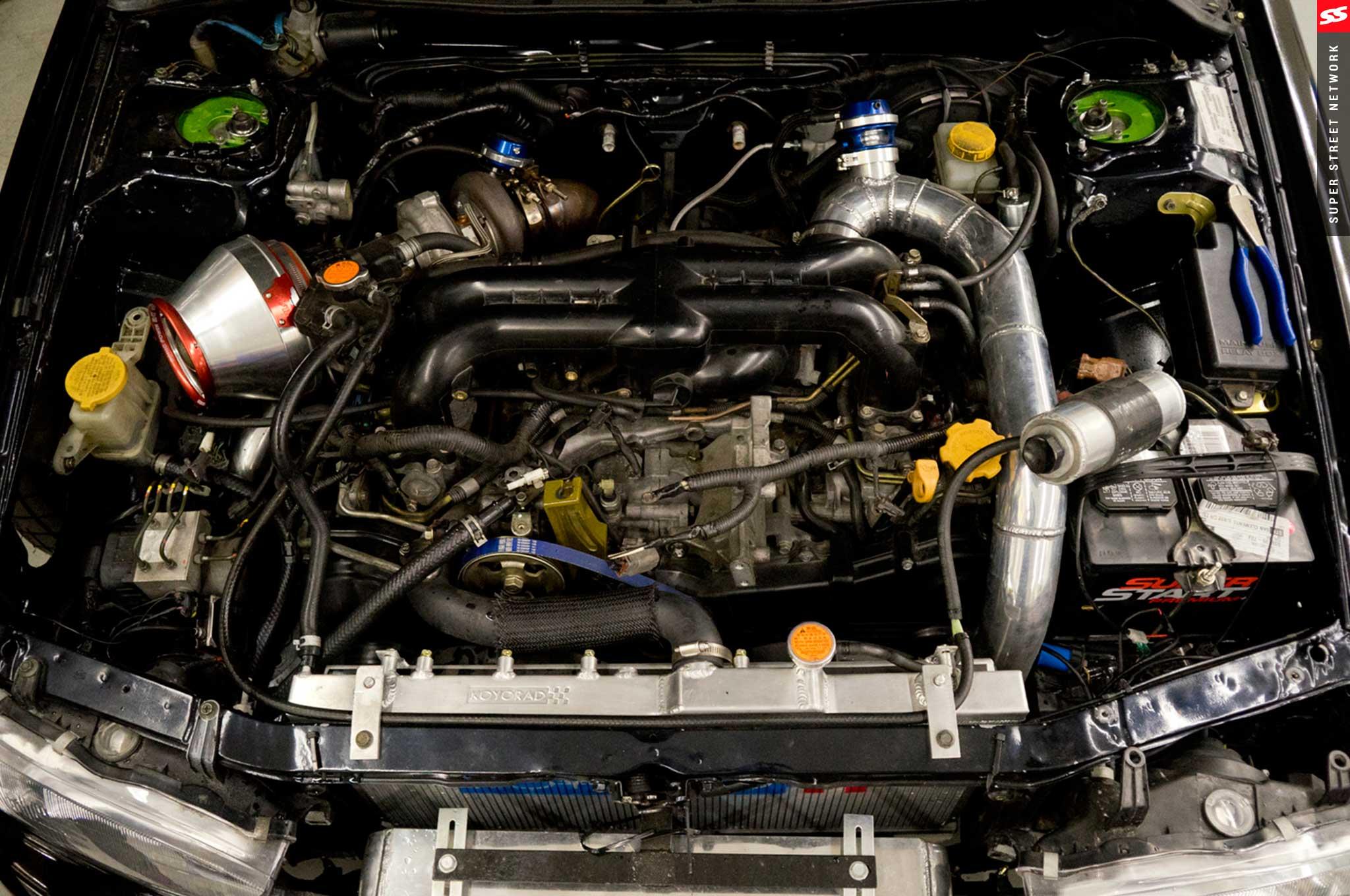 1998 Subaru Legacy Battery