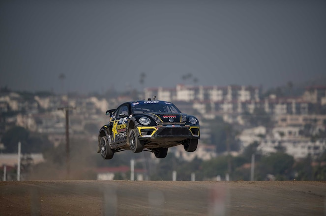Riding Along With Tanner Foust GRC VW Beetle