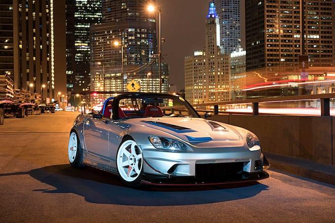 2002 Honda S2000 Voltex Front Bumper