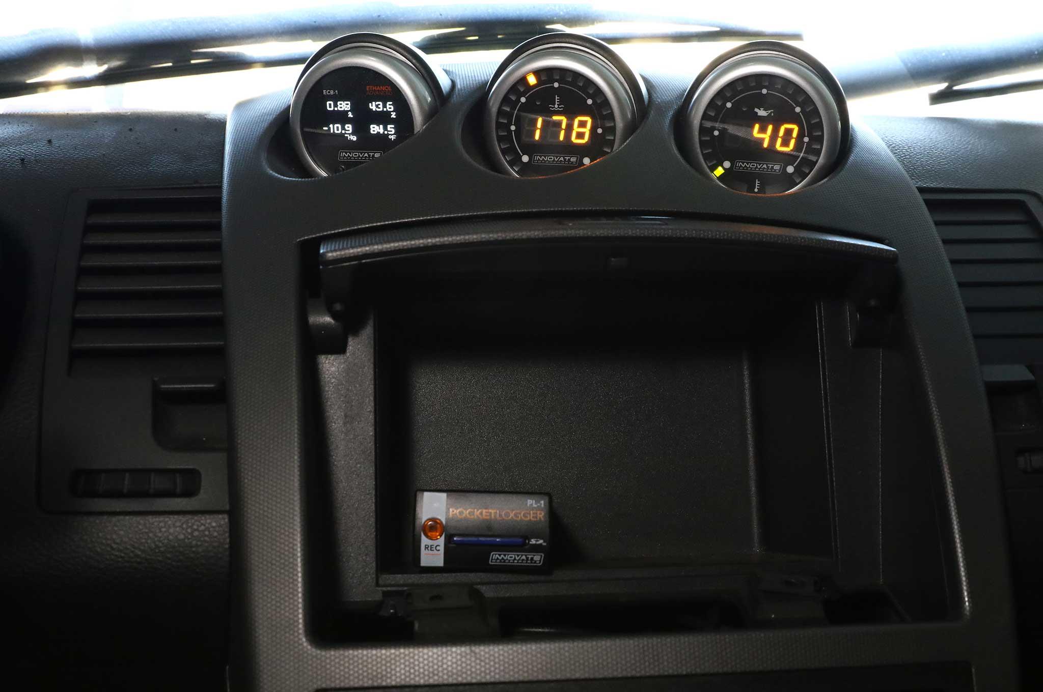 350z boost gauge