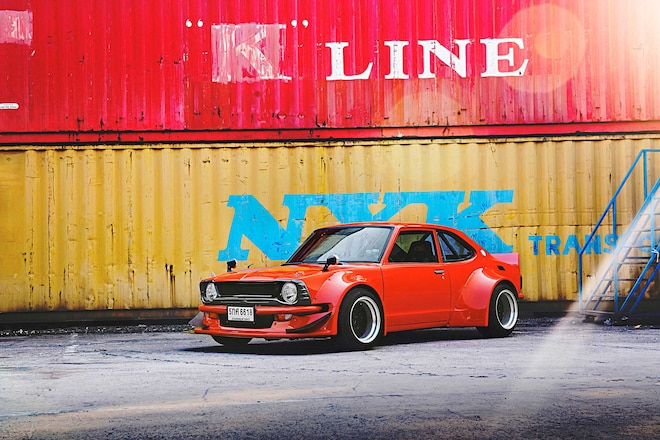 1970 Toyota Corolla Custom Widebody Kit