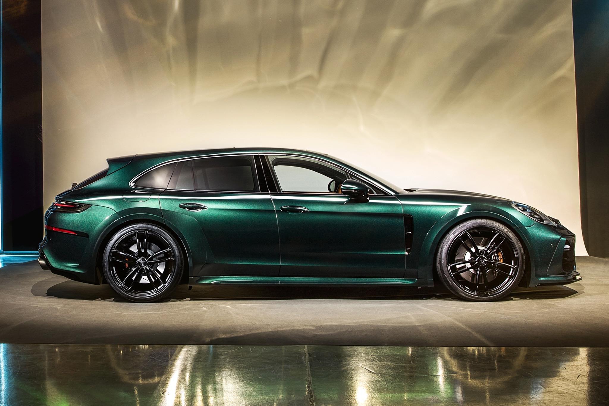 Techart S Porsche Panamera Sport Turismo Makes 640 Hp