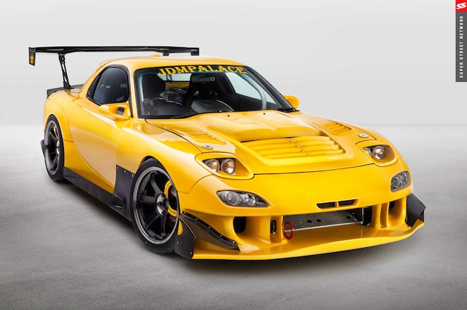 1998 Mazda Rx 7 Re Amemiya Ad Gt Front Bumper