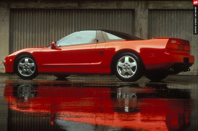 Acura Nsx History And Future Driver Side Profile