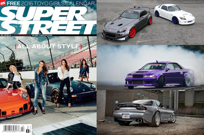 Super Street Febuary 2016 Issue Preview Lead