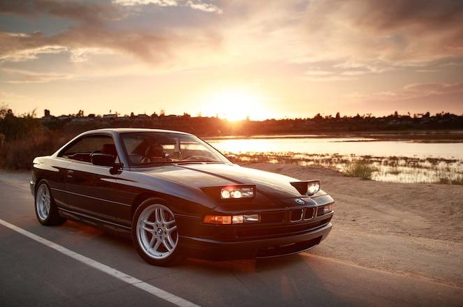 Clarion Builds BMW 850Ci Headlights
