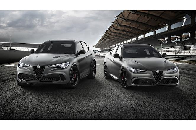 Alfa Romeo Giulia and Stelvio Nurburgring Editions