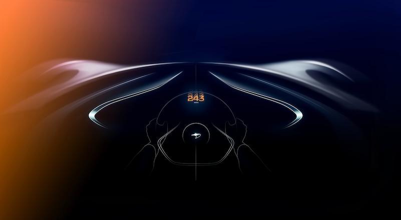 McLaren BP23 March 2018 driver view