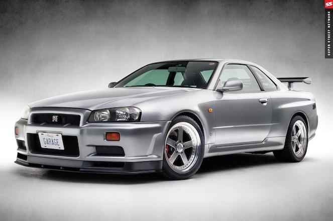 Nissan Skyline Gt R Manji Garage R34