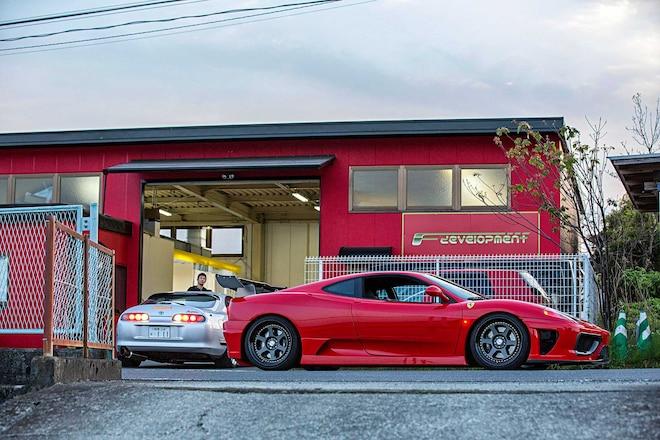 F Development Toyota Supra Ferrari 360 Modena