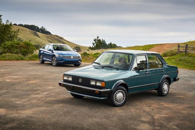 1982 and 2019 Jetta 8207