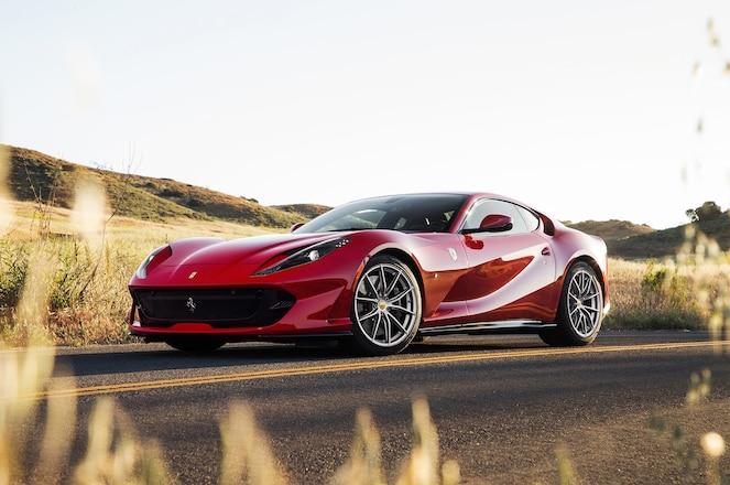 2018 Ferrari 812 Superfast Front Three Quarter