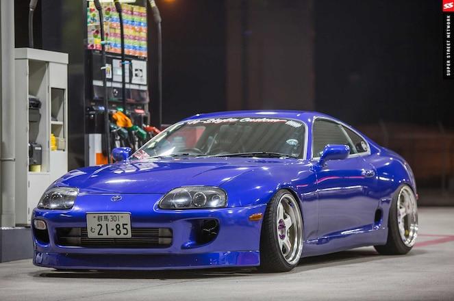 1997 Toyota Supra N Style Custom Front Lip
