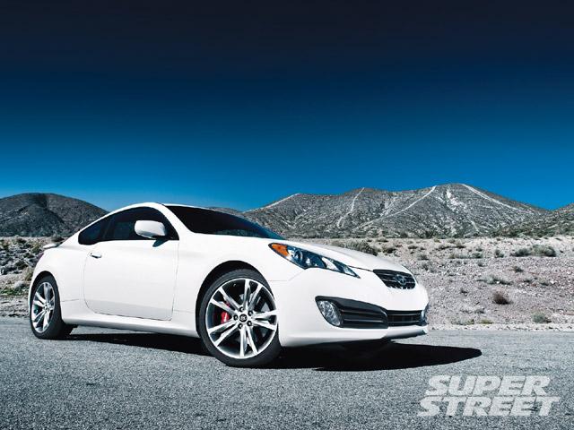 Hyundai Genesis Coupe - Affordable Turbo RWD - Super ...