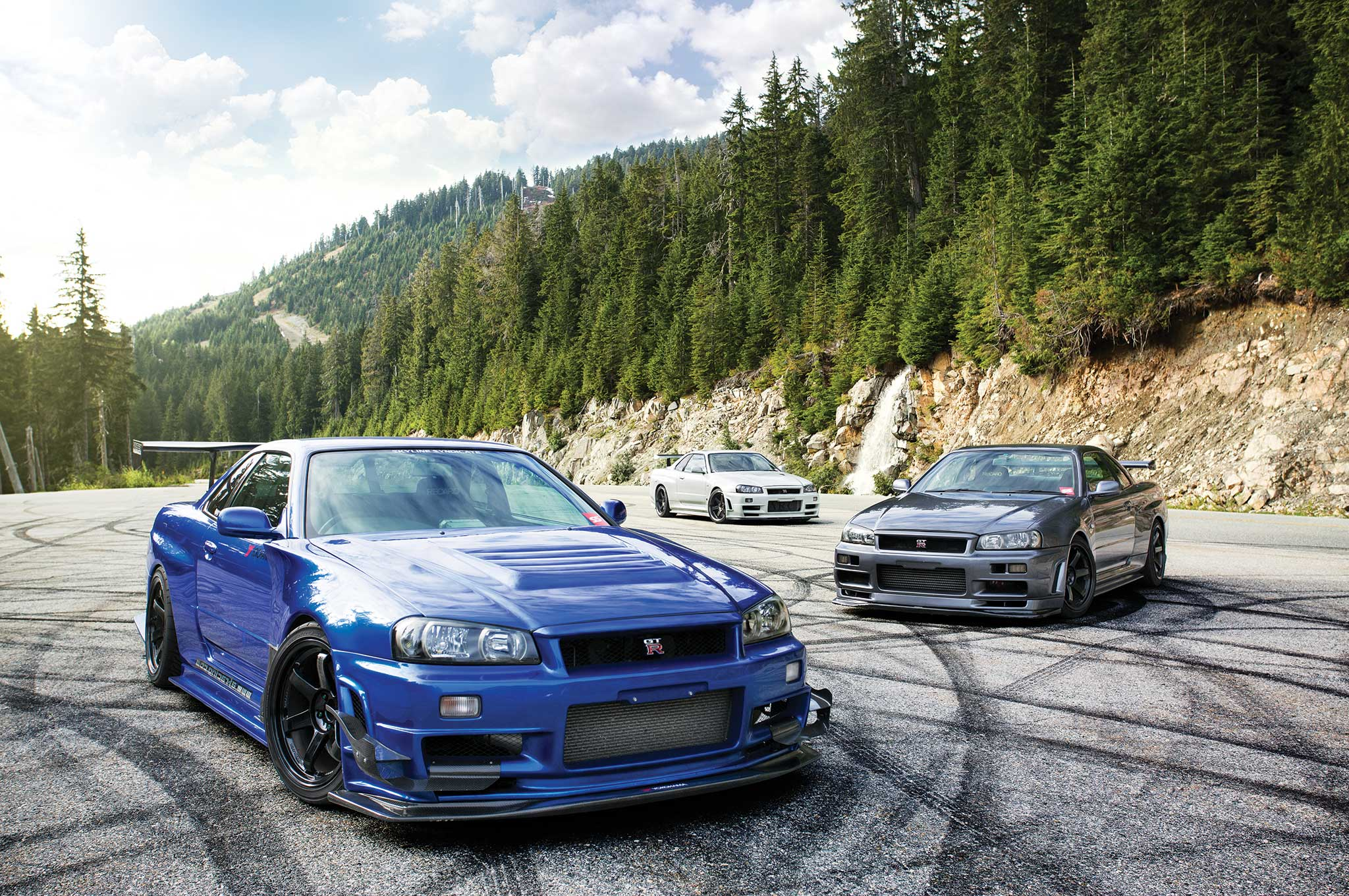 Nissan Skyline Gt R V Spec Trio Is This Heaven