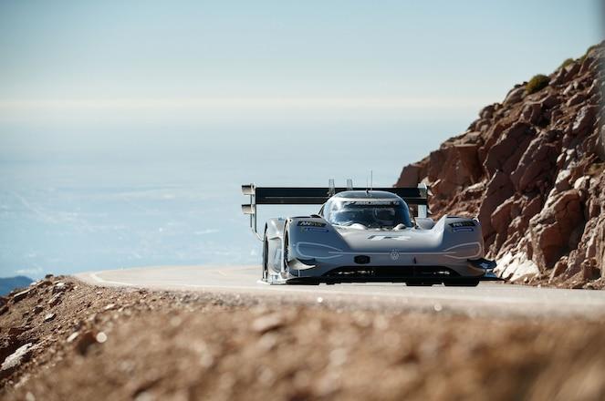Volkswagen I.D. R Going Up Pikes Peak