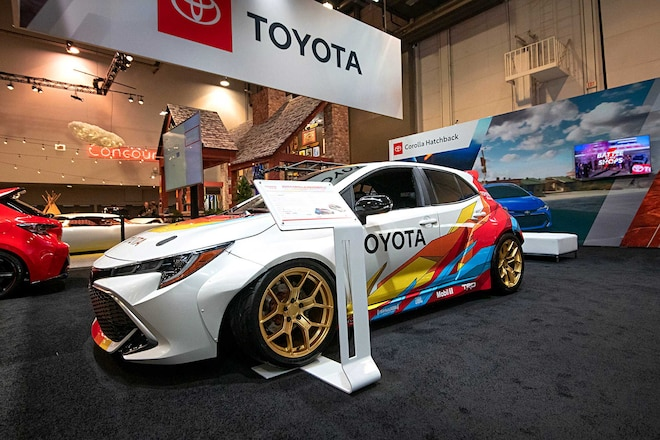 Toyota Lexus At Sema 2018 Drift Demo Corolla