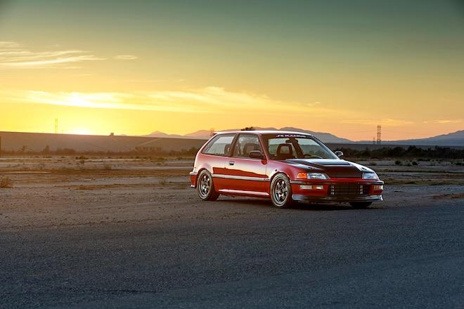 1990 Honda Civic Hatchback JDM Front End Conversion