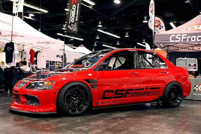 2006 Mitsubishi Lancer Evolution IX CCW D110 Wheels