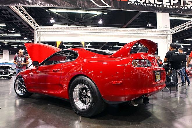 1994 Toyota Supra Driver Side Rear View