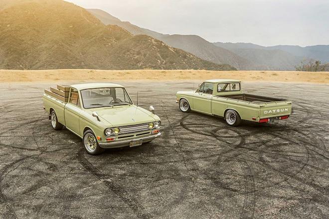 1971 & '72 Datsun 521 - Pickup Lines